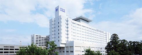 筑波大学附属病院外観写真