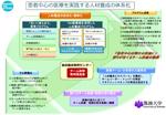 文部科学省 チーム医療推進のための大学病院職員の人材システムの確立イメージ図
