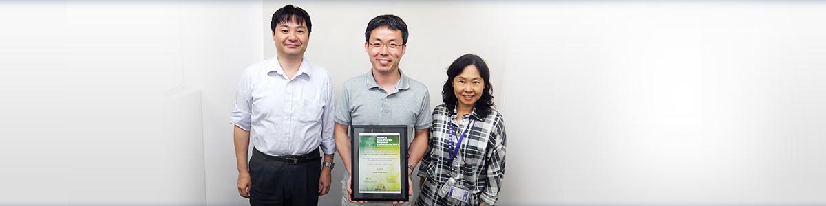 浜野 淳先生WONCA ASIA PacificRegional Conf.2015YIA Silver Medal